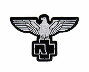 Rammstein Patch Hard Rock Heavy Metal Band Eagle Logo