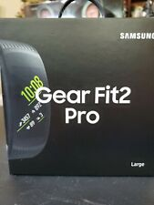 Samsung Gear Fit2 Pro Large Aluminum Case with Classic Buckle - Black (SM-R365N…