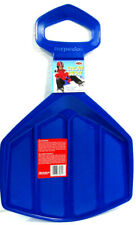 Flexible Flyer Compant And Lightweight Snow Seat Sled Blue Crack Resistant