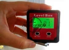 360° Magnetic Digital Inclinometer Level Box Gauge Angle Meter Finder Protractor