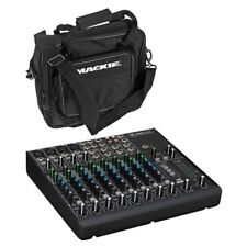 Mackie 1202VLZ4 12 Channel Compact Mixer + Mackie 1202 VLZ D Padded Mixer Bag
