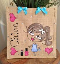 Personalised Jute Bag 32cm x 32cm Christmas Gift