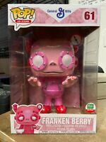 """FUNKO POP FRANKEN BERRY 10"""" AD ICONS CYBER MONDAY LIMITED SHOP EXCLUSIVE"""