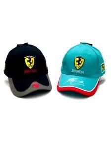 F1 Ferrari Hat combo