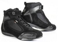 Scarpe moto Eleveit Ventex Wp nero black shoes impermeabili waterproof