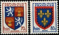FRANCE 1953  Armoiries de Provinces   YT n° 958 & 959 neufs ★★ luxe / MNH