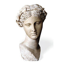 Bust head of Thalia ancient Greek Muse of Comedy Museum Replica Reproduction
