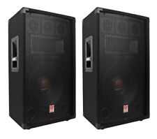 "Rockville RSM12A 12"" 1000-Watt 2-way Powered Active Stage Floor Monitor Speaker"