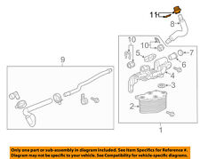 Chevrolet GM OEM 14-18 Corvette 6.2L-V8 Oil Cooler-Fitting 22876452