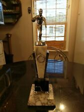 Another Art Deco Period Marble Bowling Trophy