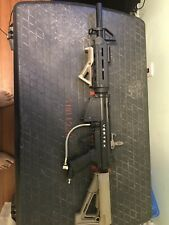 Paintball Rifle, Magfed Vortex Rifle, Black and Tan, Used