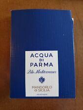 Acqua Di Parma Mandorlo di Sicilia 1.5ml Bottles New! Authentic! Fast Shipping!