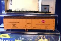 RTR 50' Reefer Car from Kit / Milwaukee Road / HO Scale 1620