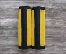 Fly Protection Leg Wraps/Leggings For Horses, Straight Fly Boots Set Of 2,Yellow