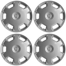 Hubcaps fits 87-88 Dodge Lancer 15 Inch Silver Replacement Wheel Cover Rim