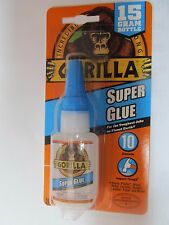 Gorilla Glue 15 Gram Bottle Super Glue #7805009 Impact Tough formula New