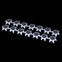 14 pcs golf shoe spikes replacement champ cleat fast twist screw stinger
