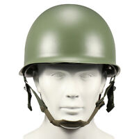 WW2 USA Military Steel ABS M1 Helmet WWII Outdoor Army Equipment New D