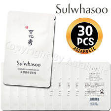 Sulwhasoo Gentle Cleansing Oil EX 4ml x 30pcs (120ml) Sample AMORE New Version