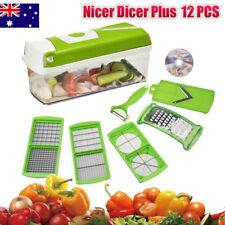 Pro Super Dicer Nicer Slicer Plus Food Chopper Cutter Peeller Food Processor AU