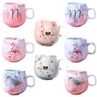 Marble Cute Mug Ceramic Coffee Mugs Tea Cup Animal Cat Foot Milk Cup Travel Cup