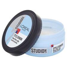 L'Oreal Style Rework Remix Fibre Putty Studio/Line/Paris/Hair/Reshape/150ml/NEW