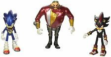 Sonic Shadow & Dr Eggman Sonic the Hedgehog Boom 3 Inch Figures