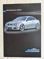 AC Schnitzer ACS3 - BMW 3er E90 - Prospekt Brochure 04.2011