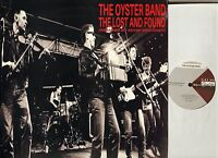 "THE OYSTER BAND the lost and found FRY 006T uk cooking vinyl 1989 12"" PS EX/EX"