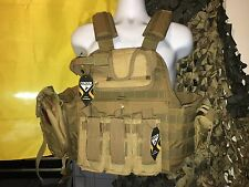 Rothco Kangaroo Coyote Carrier & All Molle Shown 2XL-3XL