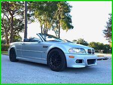 2001 BMW M3 Base Convertible 2-Door