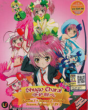 SHUGO CHARA! SEASON 1-3  JAPANESE ANIME DVD BOX SET ENG SUB + SOUNDTRACK CD