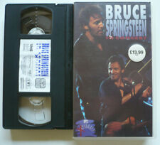 BRUCE SPRINGSTEEN - In concert - VHS