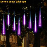 Party LED Lights Meteor Shower Rain Snowfall Xmas Tree Garden Outdoor Decoration