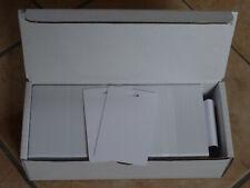 250 Plastikkarten Langloch kurze Seite, Ausweise, PVC, Kartendrucker, Card