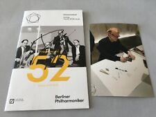 DANNY ELFMAN 'Komponist' In-person signed Programmheft 13x21 Autogramm + Foto