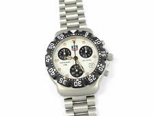 TAG Heuer Formula 1 Chronograph CA1212-R0 White & Black Retro F1 Chrono 38mm