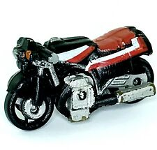 Micro Machines Motorcycle Kawasaki Eliminator Japanese Street Bike Red Black