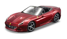 Ferrari california t open rojo oscuro escala 1:32 de Bburago