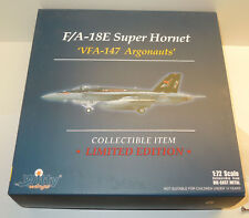 Witty Wings 1:72 f/a-18e Super Hornet 'vfa-147 Argonauts' - Limited Edition
