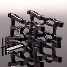 FRONT / REAR ALUMINUM LOWER SUSPENSION ARM BLACK HPI MINI SAVAGE XS FLUX SXS5501