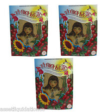 3 X LA CHICA FRESITA CAR AIR FRESHENER  STRAWBERRY FRESA DEODORANT AROMATIZANTE