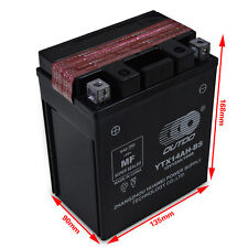 YTX14AH-BS ATV Battery for Kawasaki KLF220-A Bayou (CN) KEF300-A Lakota KLF300-B