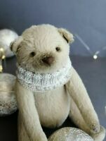 "handmade  OOAK Artist teddy bear  6"""