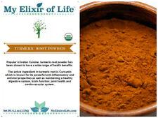 Certified Organic Turmeric Root Powder from India~CURCUMA LONGA 4.2 oz Spice