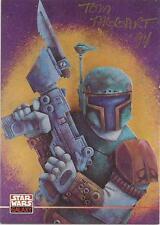 Star Wars Galaxy 4 - Tom Taggart Auto / Autograph Card #269
