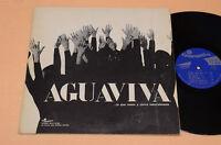 AGUAVIVA LP SAME-PROG 1°ST ORIG ITALY 1970 GATEFOLD EX