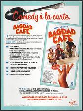 BAGDAD CAFE__Original 1988 Trade AD movie promo__CCH POUNDER__CHRISTINE KAUFMANN