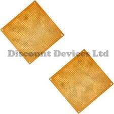 2x   80x80mm Bakelite 1.2mm Single Side Copper Prototype PCB Matrix Board