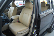 HONDA PILOT 2003-2012 IGGEE S.LEATHER CUSTOM FIT SEAT COVER 13COLORS AVAILABLE